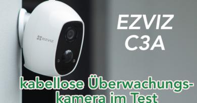 EZVIZ C3A Security Überwachungskamera für Innen- & Außenbereich im Test